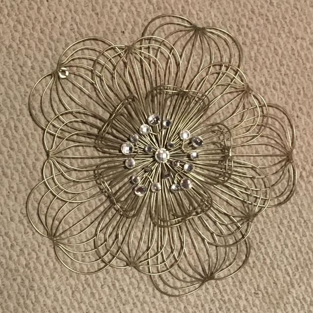 Find more Metal And Crystal Flower Wall Decor for sale at up to 90% off