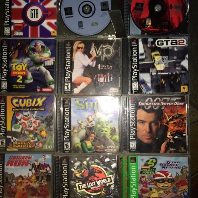 $4 PS1 Games (GTA GAMES ARE $11 each)