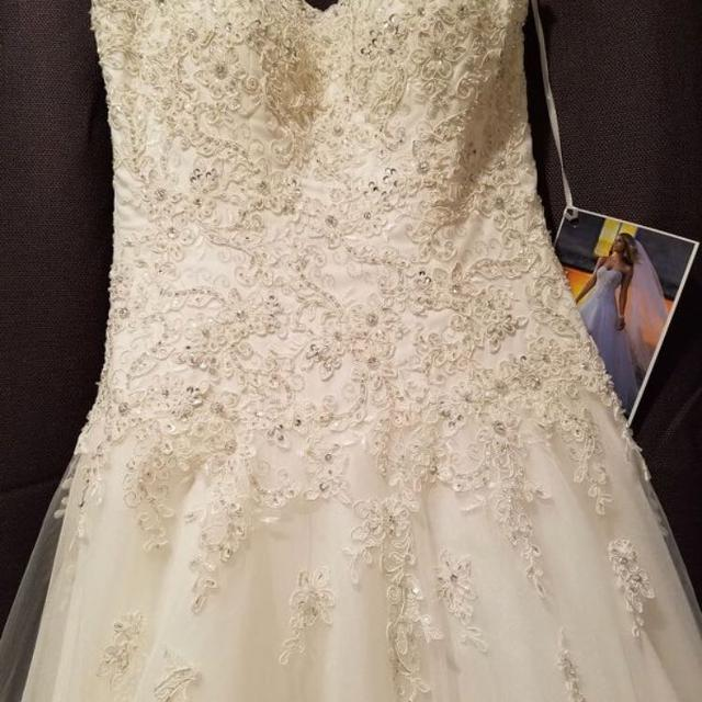 Best Never Used- Stella York 5388 Wedding Gown for sale in Roayl Pam ...