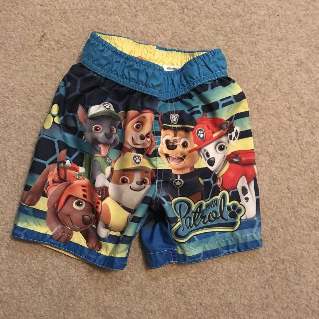 a545b6daae8e2 Find more Size 3t Paw Patrol Swimming Trunks for sale at up to 90% off