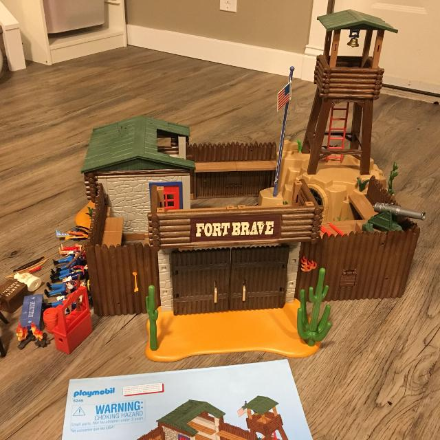 Find More Playmobil 5245 Western Fort For Sale At Up To 90 Off