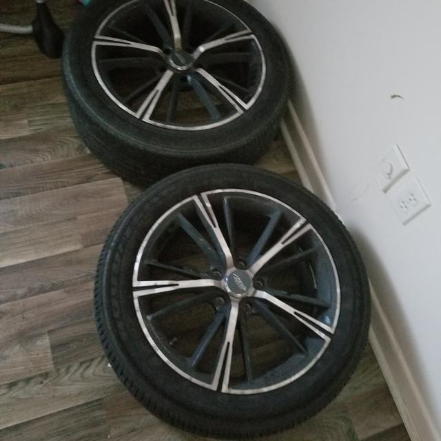 18 Inch Tires >> 18 Inch Rims With Tires New