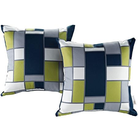 Outdoor Patio Throw Pillows 2 By Modway