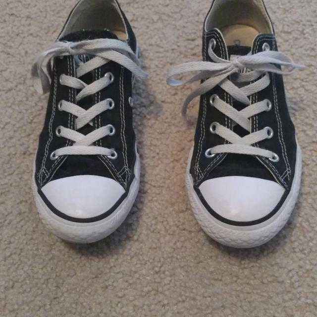 ee77ace01a9afe Find more Girls Black Converse All Star Shoes for sale at up to 90% off