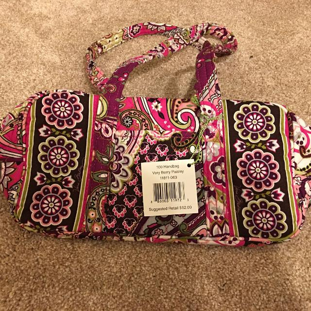 5a6422477a3cd7 Find more Vera Bradley 100 Bag In Very Berry Paisley for sale at up ...