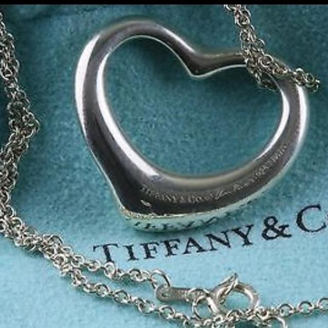Find more tiffany co elsa peretti open heart necklacethentic tiffany co elsa peretti open heart necklace aloadofball Choice Image