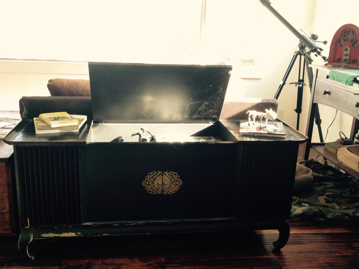 Vintage Console Stereo