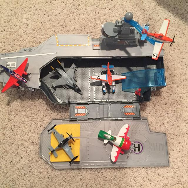Aircraft Carrier Destroyer Fighter Jetilitary Helicopter Playset Unboxing Playing You