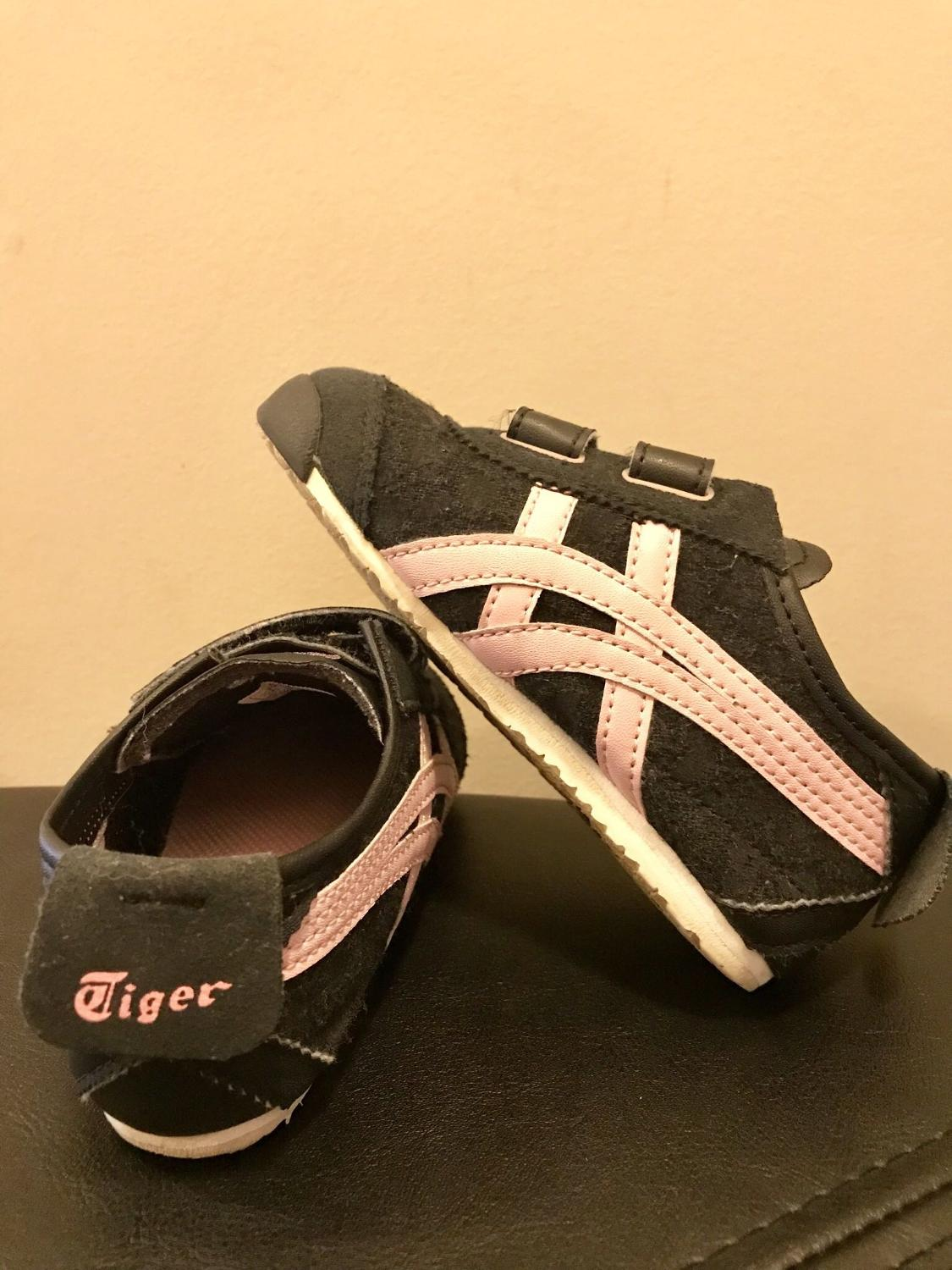 newest collection cd8f2 0256a Onitsuka Tiger Kids C7 velcro runner