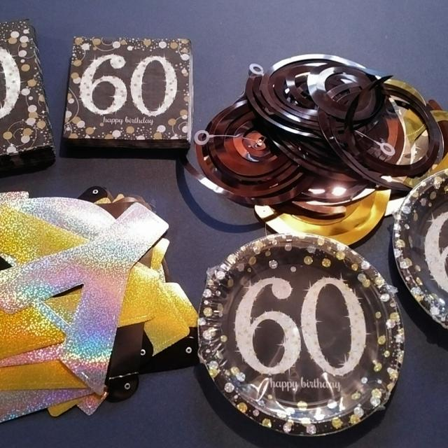 Find More 60th Birthday Decorations From Party City For Sale At Up