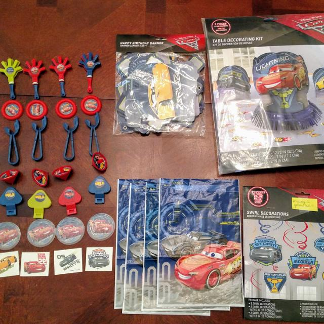 Best Disney Cars 3 Birthday Decorations Supplies For Sale In Griffin Georgia 2019