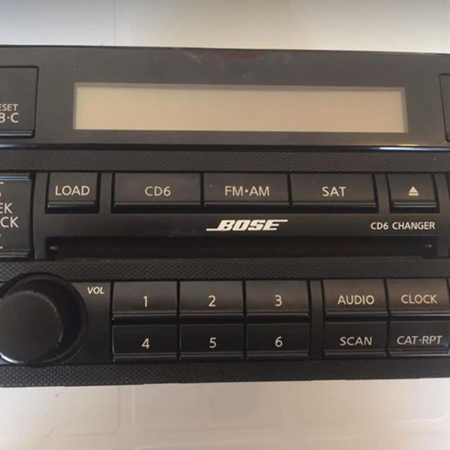Bose Car Stereo >> Further Reduced Bose Car Stereo 2005