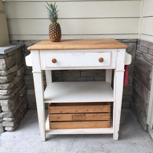 Find more kitchen island pub table butcher block farm house kitchen island pub table butcher block farm house refinished watchthetrailerfo