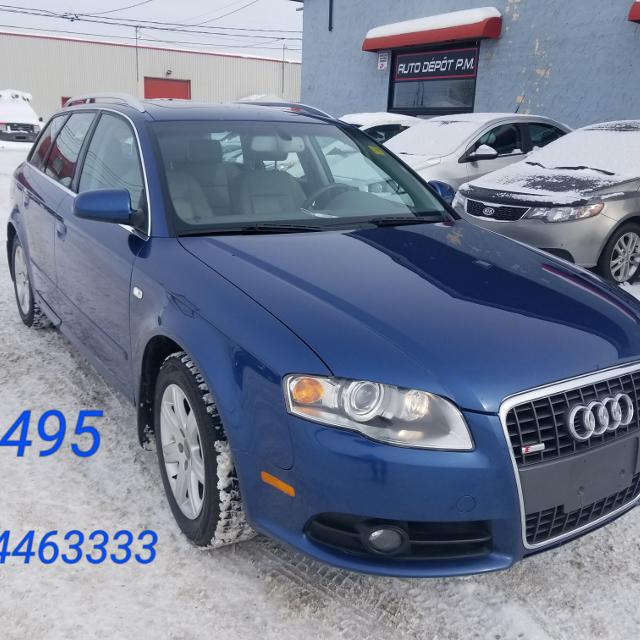 Find More Audi A4 S-line Wagon Quattro With Tiptronic 2008