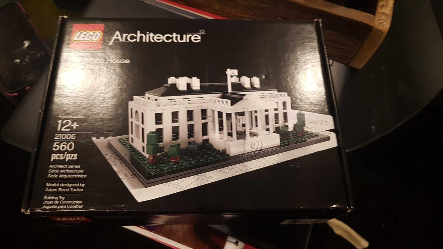 Find More White House Lego For Sale At Up To 90 Off 21006 Architecture The