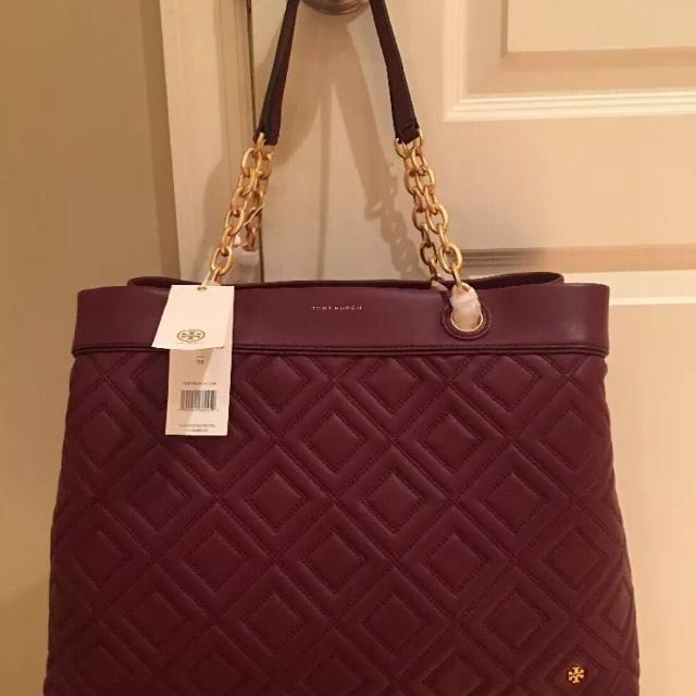 d50415bd759f3 Best Tory Burch Fleming Triple-compartment Tote for sale in Philadelphia