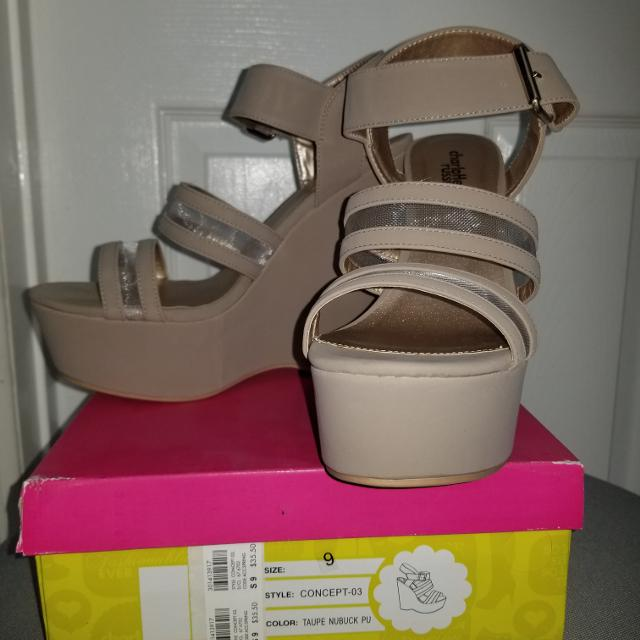 fa691d62b4e Best Brand New Nude Charlotte Russe Wedges for sale in Corona ...