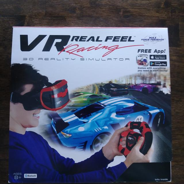 NIB VR Real Feel Racing 3D Realty Simulator