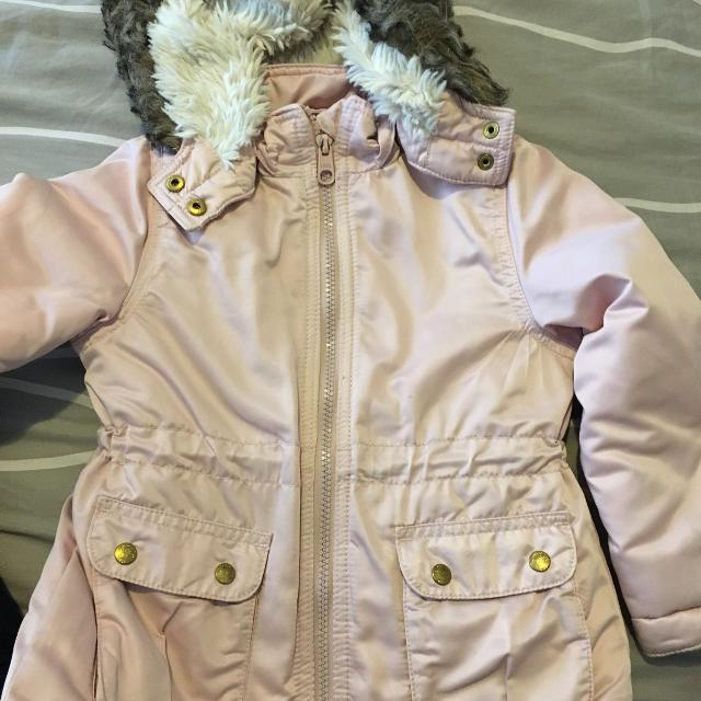 b38093de7b7f Best Girls H m Quilted Jacket With Removable Hood. for sale in ...