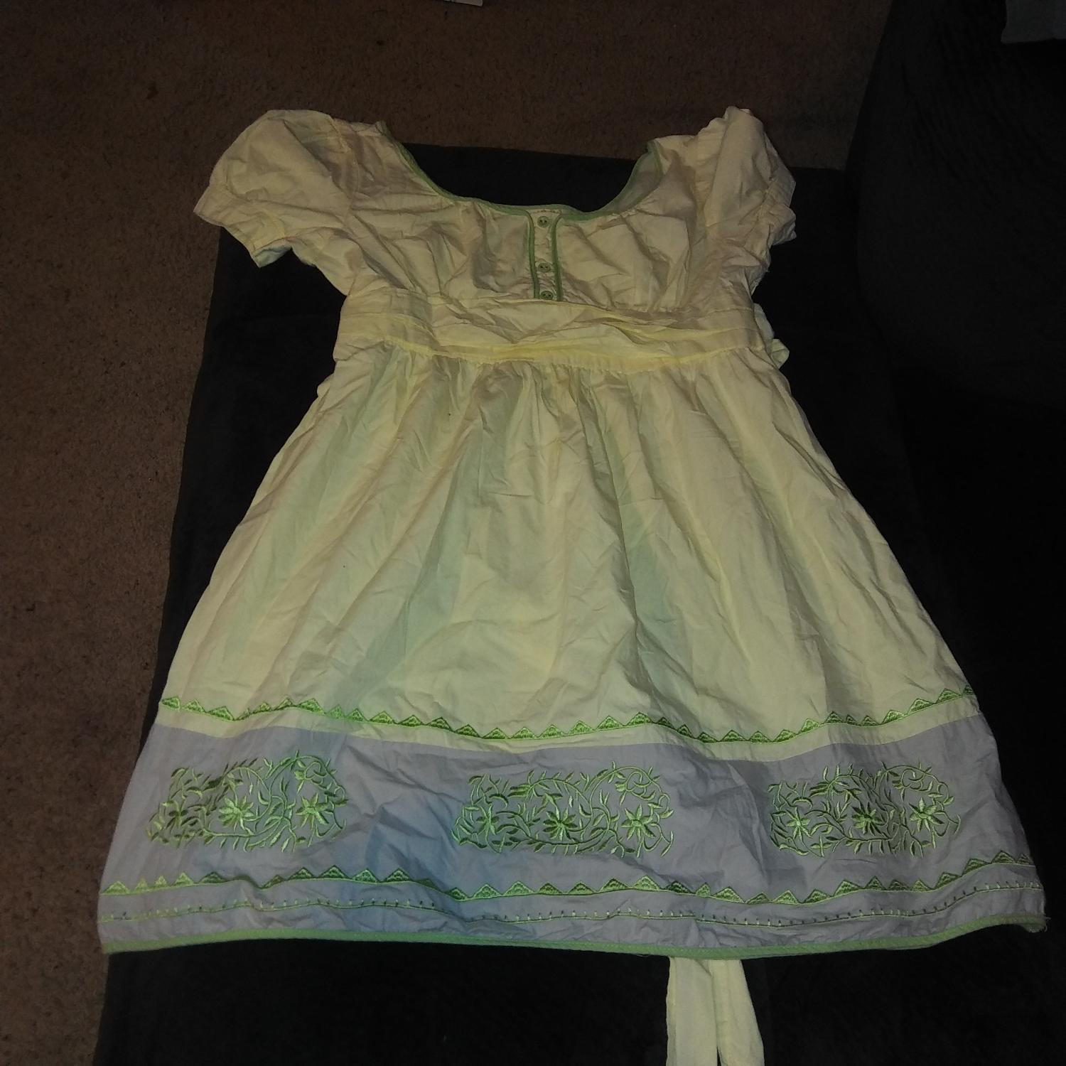 Ups Saraland Al: Best Girls Yellow Embroidered Dress For Sale In Saraland