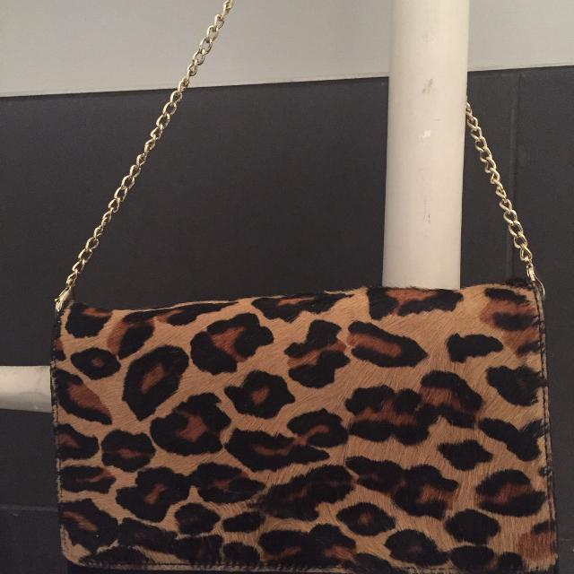 9e09c8dbe6a6 Find more Dkny Leopard Print Purse/clutch for sale at up to 90% off