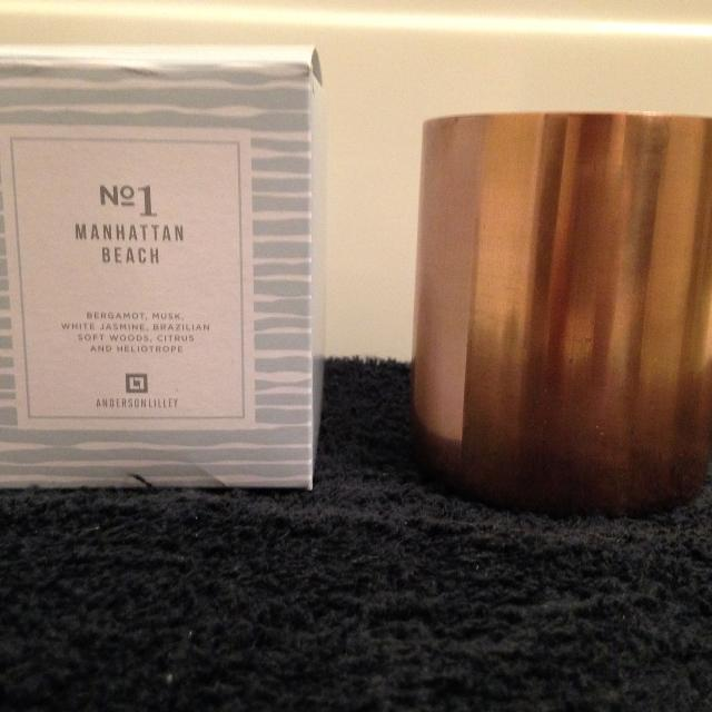 Anderson Lilley Soy Wax Candle Manhattan Beach Scent