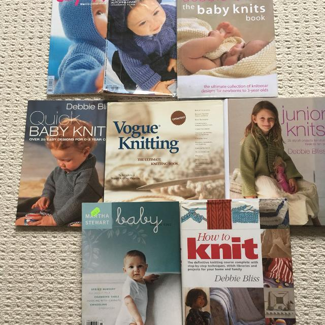 Best Lots Of Knitting Books And Magazines For Sale In Oshawa