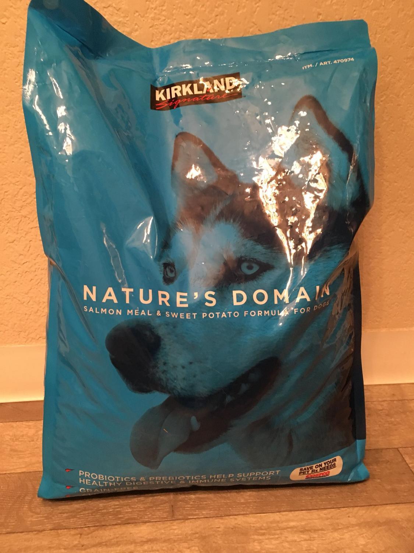 Kirkland Salmon Sweet Potato Dog Food 35 Lbs