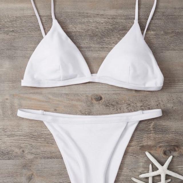 02cac470379 Find more Zaful - White Bikini for sale at up to 90% off
