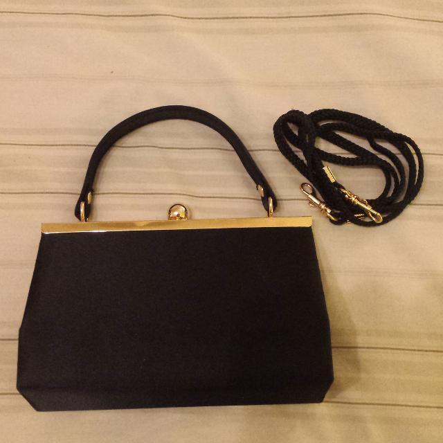 Small Jackie O Style Vintage Purse With Strap
