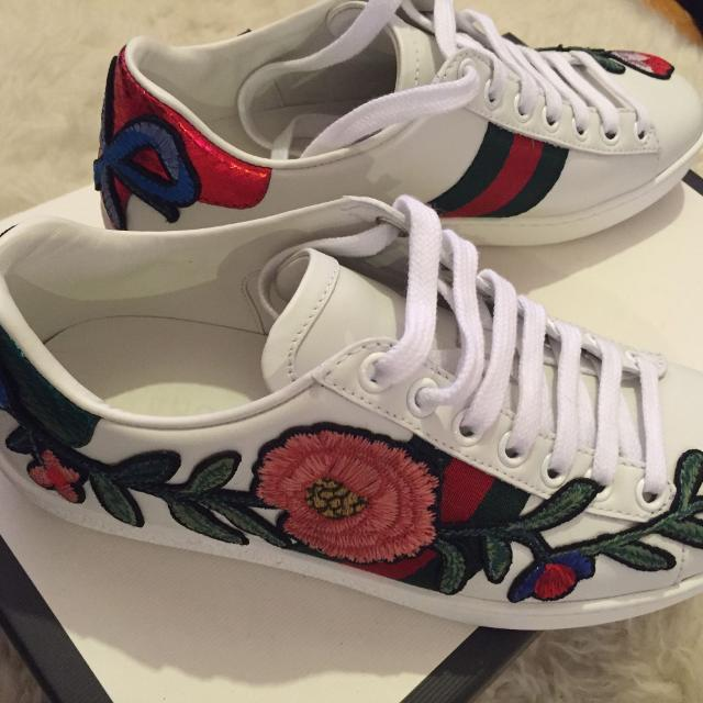 Best Women s Gucci Sneakers Size 5.5-6 for sale in Yorkville ... 5e95eceabc