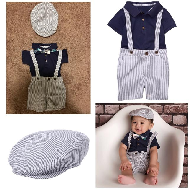 Sweet Baby Boy Dressy Easter Outfit