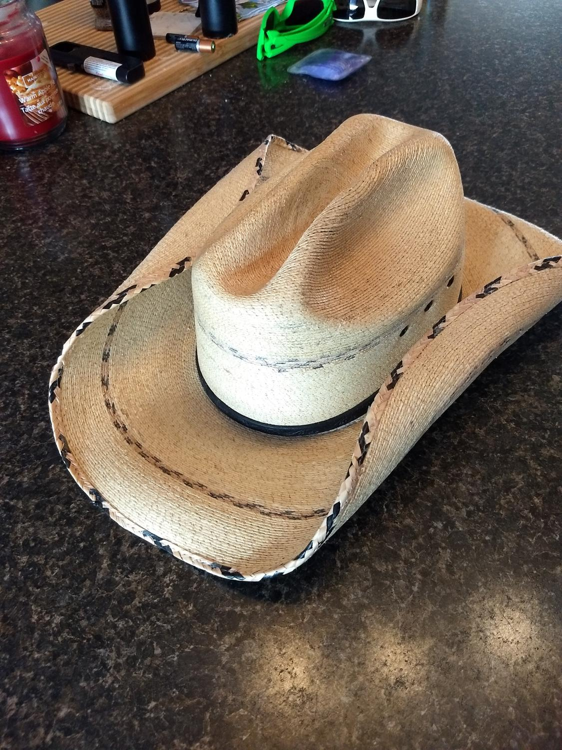 cc08668515e43 Find more Kenny Chesney Blue Chair Bay Cowboy Hat for sale at up to ...