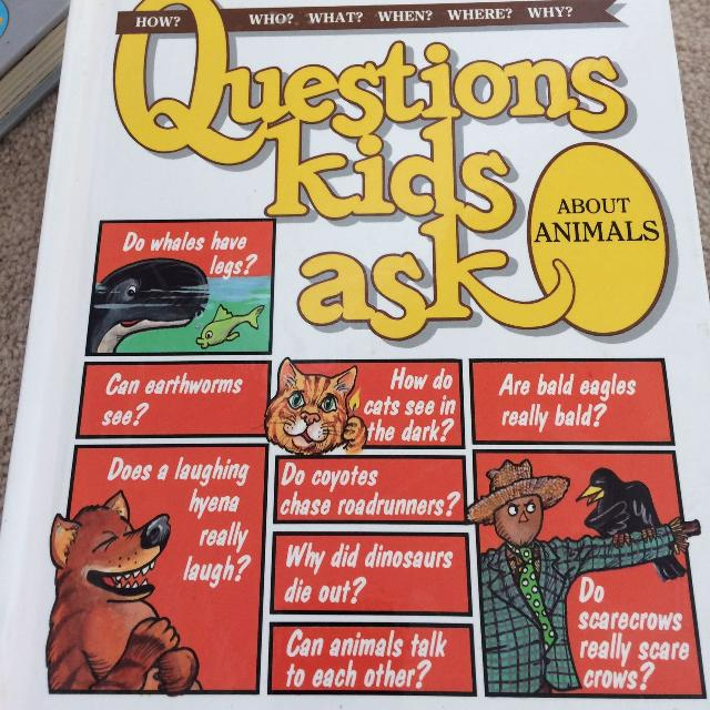 Questions kids ask  Animals
