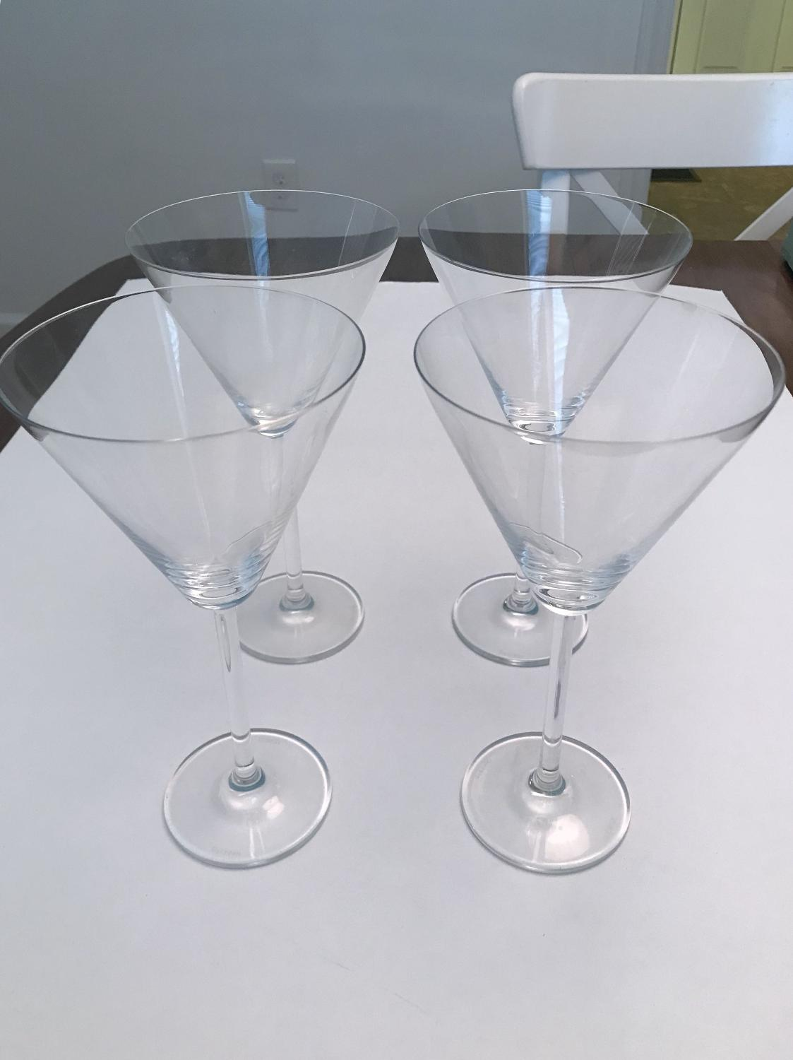 Best Lenox Oxygen Martini Glasses (set Of 4) for sale in Richmond ...