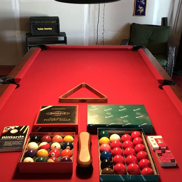 Best Brunswick American Billiards Table With Pool Lighting For Sale - Us billiards pool table