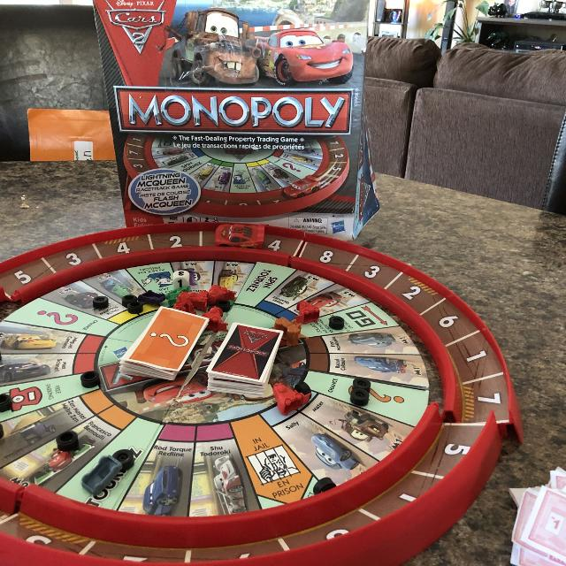 Find More Monopoly Cars 2 Race Track Game For Sale At Up To 90 Off