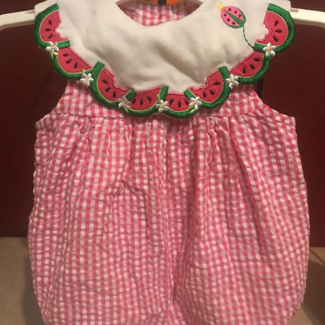 01bc791fc Best Super Cute Gingham Romper Baby Girls Size 3/6 Months $1.00 for sale in  Surprise, Arizona for 2019