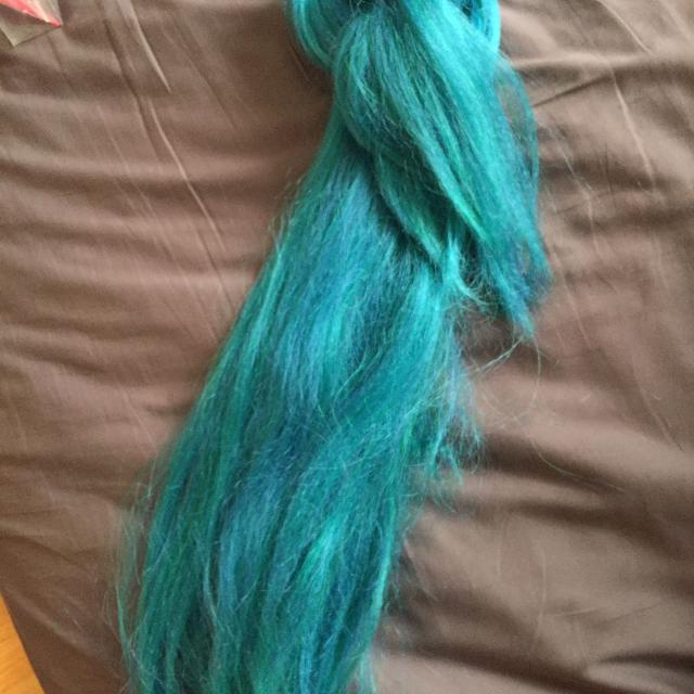 Best Turquoise Hair For Extension Making Or False Dreads For Sale In