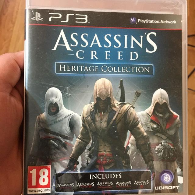Best Assassins Creed Collection All 5 Major Games Ps3 20 For Sale
