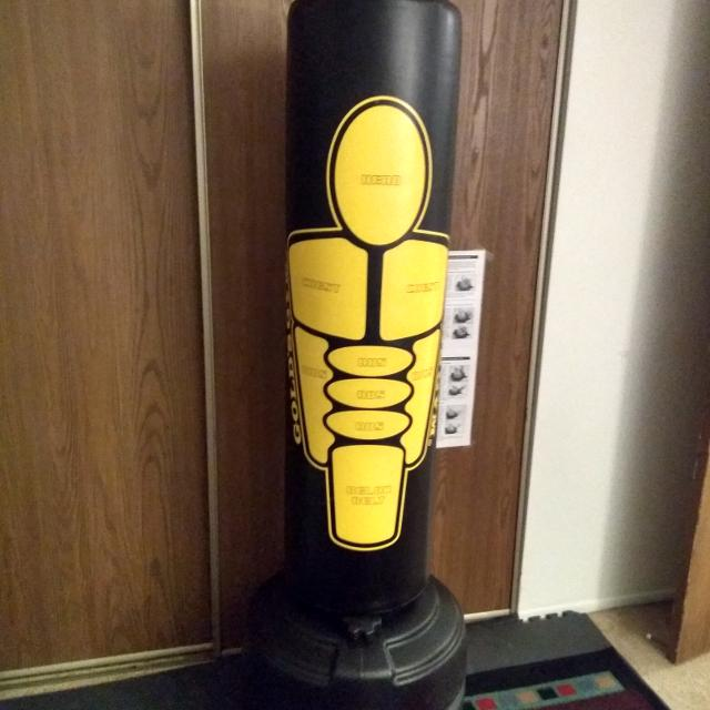 Gold S Gym Stand Up Punching Bag