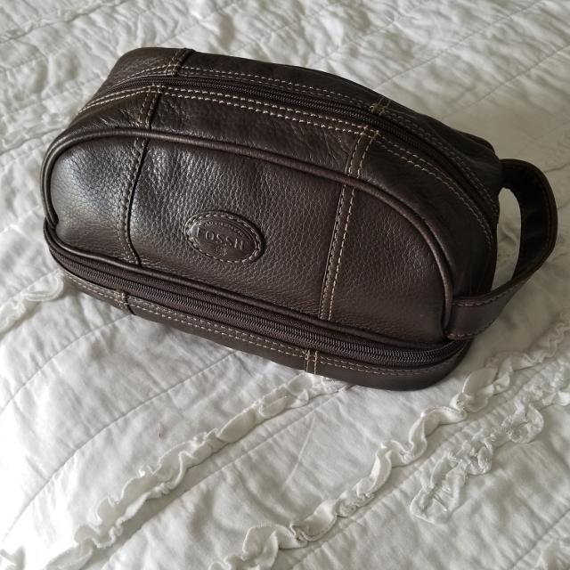 Best Men s Leather Fossil Toiletry Bag for sale in Hendersonville ... 6ecc8383a0a8a