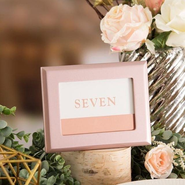 Find More Wedding Table Number David Tutera 4 Piece Frame Set Rose
