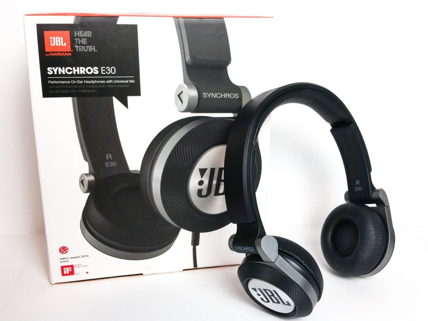Find More New Jbl Wired Headphones E30 For Sale At Up To 90 Off Headset Synchros