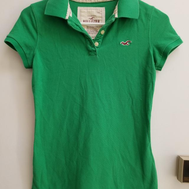 f4ff9bb12 Best Hollister Green Polo Shirt Perfect For St. Patrick's Day Women's /  Juniors Size Small S for sale in Piatt County, Illinois for 2019