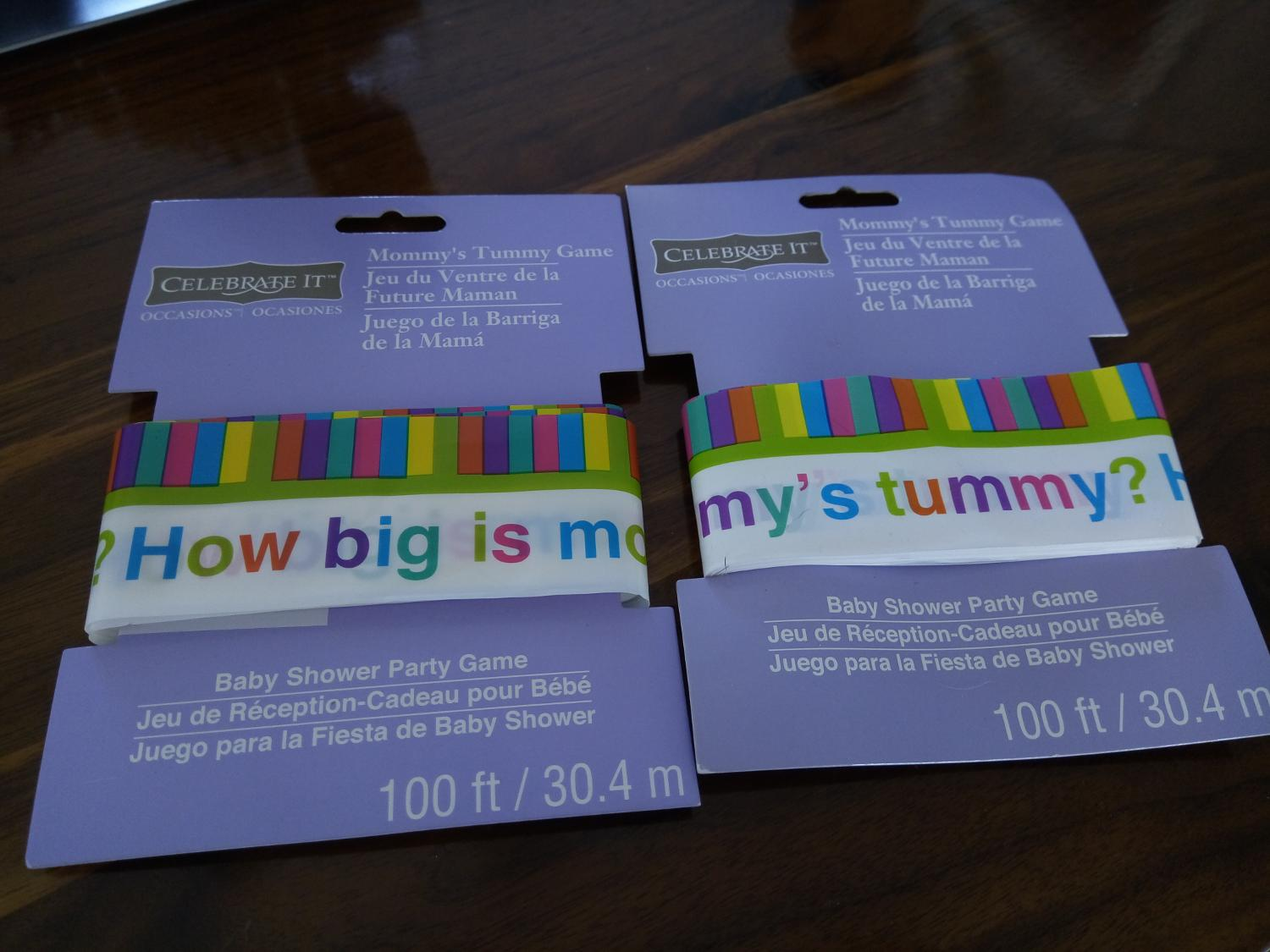 Baby Shower Cadeau Futur Maman baby shower: how big is mommys tummy