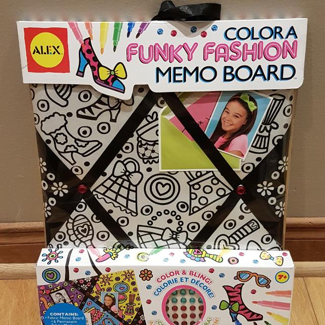 Find More New Sealed Giftable Alex Toys Colour A Funky Memo Board Inspiration Funky Memo Boards