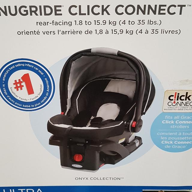 76b64bafd9d Find more Graco Snugride Click Connect 35 Infant Car Seat for sale ...