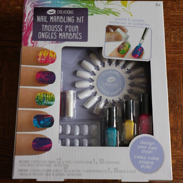 Best Crayola Creations Nail Marbling Kit for sale in Dollard-Des ...