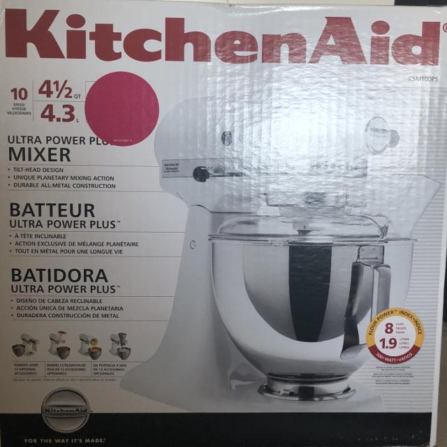 Find More Kitchenaid Stand Mixer In Flamingo Pink New Nib 250